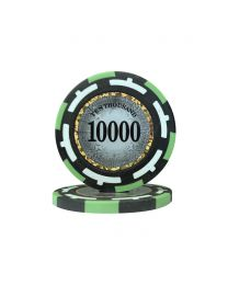Macau Poker Chips Ten Thousand