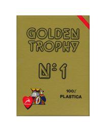 Modiano Golden Trophy speelkaarten rood