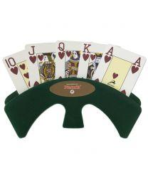 Piatnik luxe speelkaartenhouder groen