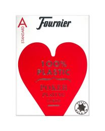 Fournier standaard poker speelkaarten rood