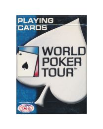 Speelkaarten World Poker Tour blauw