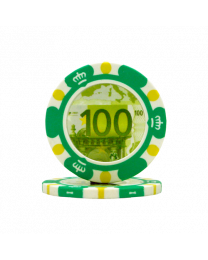 Pokerchips Euro ontwerp €100