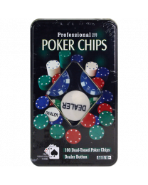 Pokerchips kado set