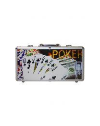 Poker design koffer 300