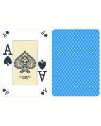Poker index casino speelkaarten Modiano lichtblauw