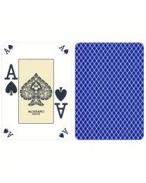 Poker index casino speelkaarten Modiano blauw