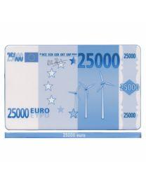 Poker plak 25000 Euro