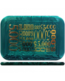 Poker plaque toernooi 5000