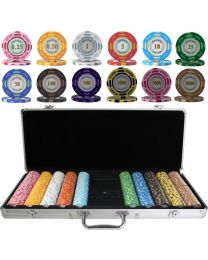 Poker Set Monte Carlo 500 Chips