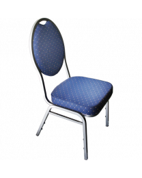 Pokertoernooi stoelen blauw