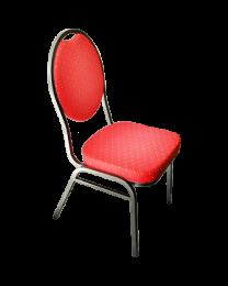 Pokertoernooi stoelen rood