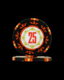 Pokerfiches Carta Mundi 25