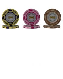 Monte Carlo pokerchips
