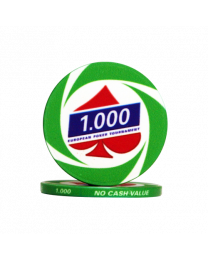 EPT poker chips 1000