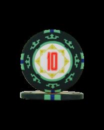Pokerfiches Carta Mundi 10