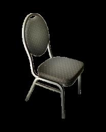 Pokertoernooi stoelen zwart