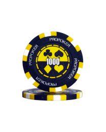 Pro poker chips 1000