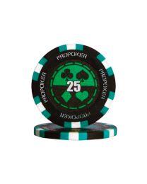 Pro poker chips 25