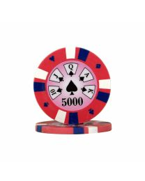 Royal Flush pokerchips 5.000