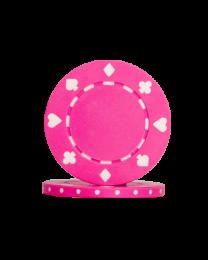 Pokerchips Suit roze