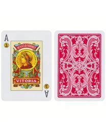 Fournier 20 Poker Speelkaarten Spanje Rood