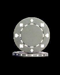 Pokerchips Suit grijs
