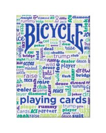 Bicycle Table Talk kaarten blauw