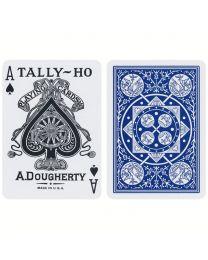 Tally-Ho Deck Fan Back Blauw