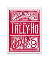 Tally-Ho Deck Fan Back Rood