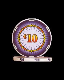 Ceramic pokerchips classics €10