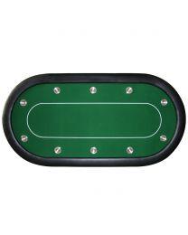 Pokertafel toernooi groen