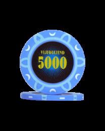 Pokerfiches toernooi vijfduizend