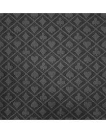 Two-tone suited speed poker speeltafel laken zwart