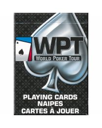 World Poker Tour Playing Cards Zwart