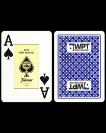 World Poker Tour kaarten Fournier blauw