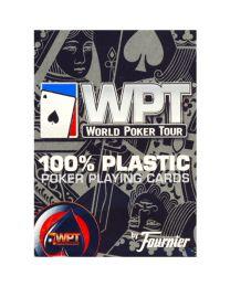 World Poker Tour kaarten Fournier rood
