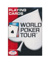 Speelkaarten World Poker Tour rood