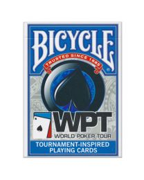 World Poker Tour kaarten Bicycle blauw