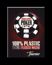 Fournier WSOP speelkaarten rood