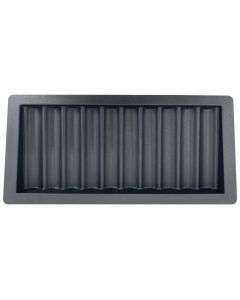 Plastic casino dealer chip tray 10 rijen