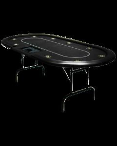 Pokertafel Cash Game Zwart
