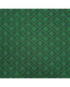 Two-tone suited speed poker speeltafel laken groen