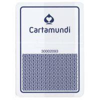 Cartamundi plastic casino speelkaarten blauw