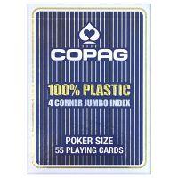 COPAG 100% plastic 4 corner index blauw