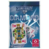 Diamond speelkaarten Cartamundi blauw