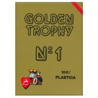 Modiano Golden Trophy speelkaarten rood