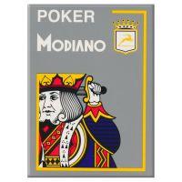 Modiano Poker Cristallo Grigio Plastica