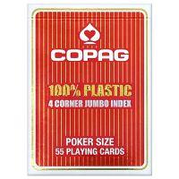 COPAG 100% plastic 4 corner index rood