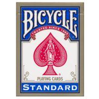 Bicycle standaard index kaarten blauw