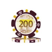 Pokerchips Euro ontwerp €200